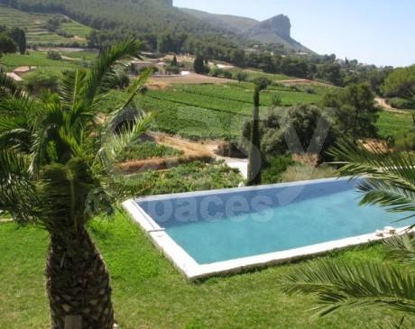location de maison avec piscine et jardin exotique pour tournages et shooting photos  provence alpes côte d'azur