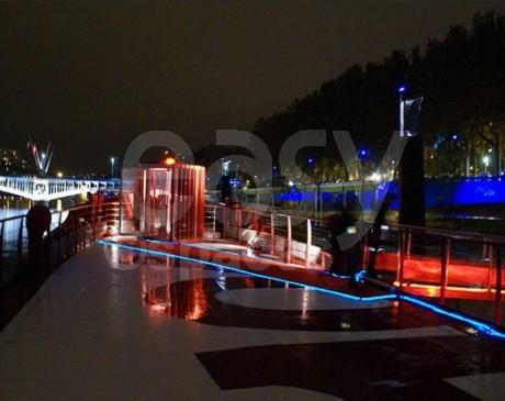 Location de bateau pour evenements professionnels Lyon