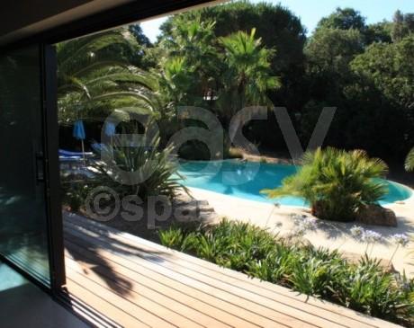 Villa en location pour prises de vues photos et tournages de films Saint -Tropez