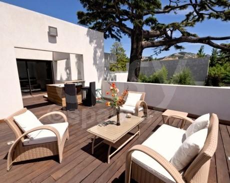 location de villa contemporaine pour photos tournages Marseille sud France 13