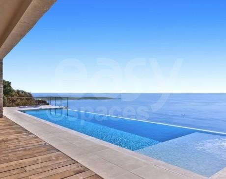 location de piscine vue mer pour production photo cannes 06