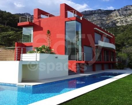 Maison d'architecte Design à louer pour productions photos sur Monaco