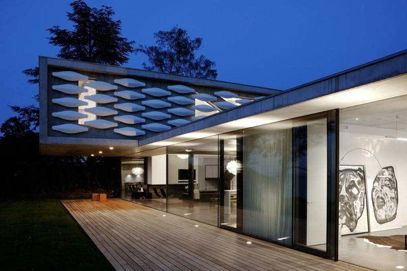 villa moderne pour shooting