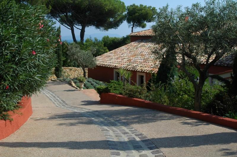 villa riviera prises de vues